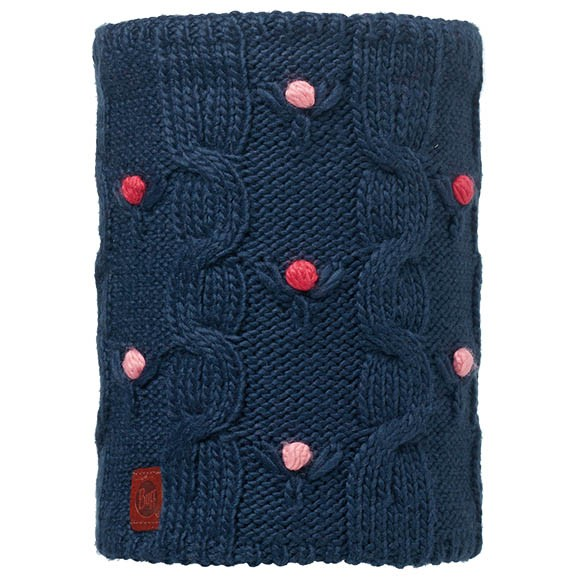 Шарф Jr Knitted & Polar Neckwarmer Buff® Dysha Dark Navy-Dark Navy 113535.790.10