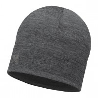 Шапка Buff Lightweight Merino Wool Hat Solid Grey 113013.937.10.00