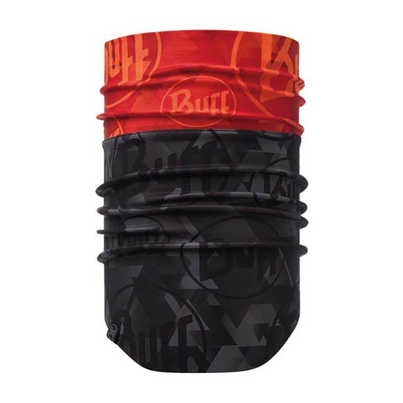 Бандана Buff Windproff Neckwarmer Tip Logo Orange Fluor 118190.211.10.00