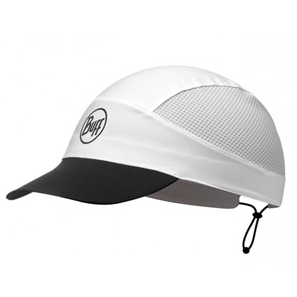 Кепка Buff Pack Run Cap R-Solid White 113702.000.10.00