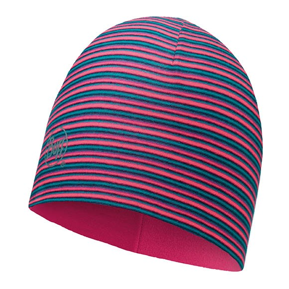 Шапка Microfiber & Polar Hat Buff Pink Fluor Stripes 113181.522.10.00