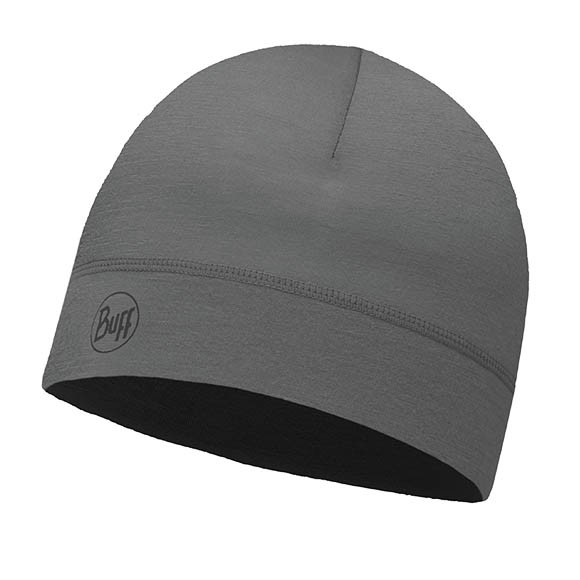 Шапка Buff Thermonet Hat Solid Grey Castlerock 115346.929.10.00