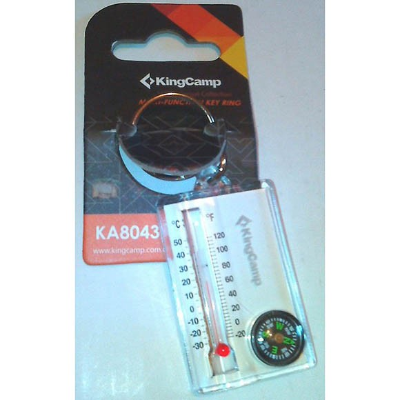 Брелок термометр-компас King Camp THERMOMETER COMPASS 8043
