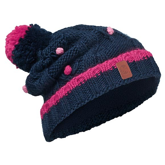 Шапка Junior Knitted & Polar Hat Buff® Dysha Dark Navy-Dark Navy 113531.790.10