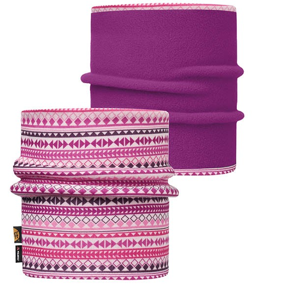 Шарф Jr & Child Reversible Polar Neckwarmer Buff® Diamonds Pink 113412.538.10