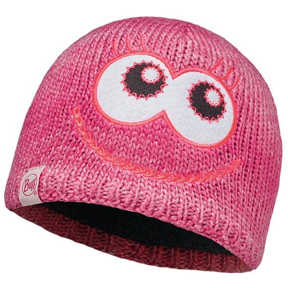 Шапка Knitted Kids Collection Child Knitted & Polar Hat Monster Merry Pink 113452.538.10