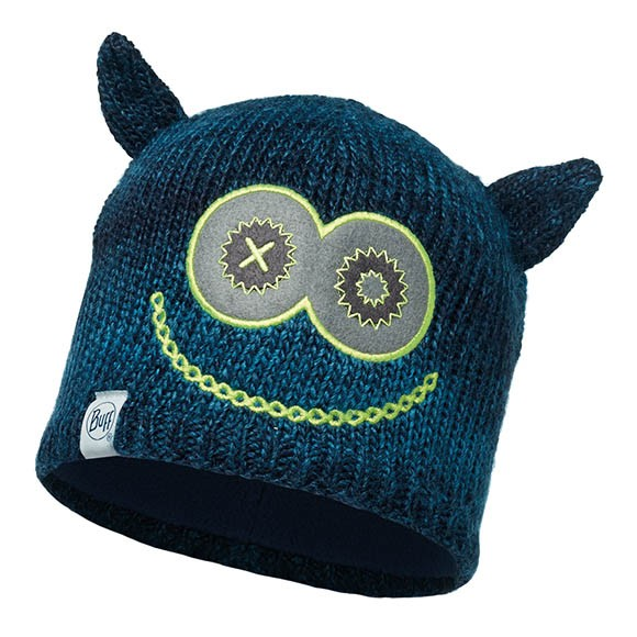 Шапка Child Knitted & Polar Hat Buff® Monster Merry Dark Navy-Dark Navy 113452.790.10
