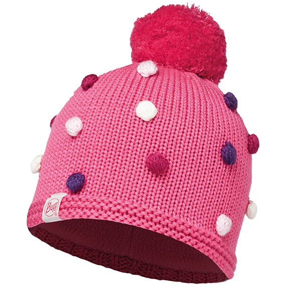 Шапка Knitted Kids Collection Child Knitted & Polar Hat Buff Odell Ibis Rose 113454.518.10