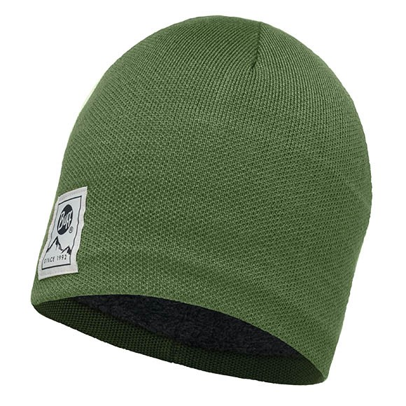 Шапка Knitted & Polar Hat Buff® Solid Forest-Forest 113519.809.10.00