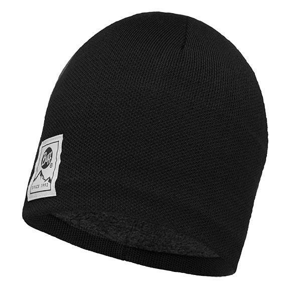 Шапка Knitted & Polar Hat Buff® Solid Black 113519.999.10.00