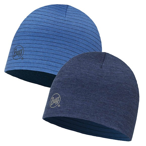 Шапка Merino Wool Reversible Hat Buff Solid Denim 113581.788.10.00