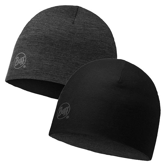 Шапка Merino Wool Reversible Hat Buff Solid Black 113581.999.10.00