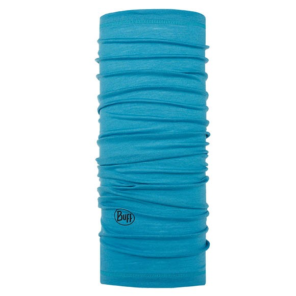 Бандана Buff Lightweight Merino Wool Solid Scuba Blue 113010.796.10.00