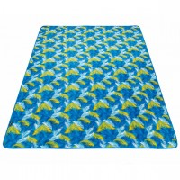 Плед King Camp PicnicBlanket Palm Blue, 200x150, арт. 4707