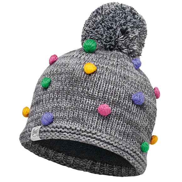 Шапка Kids Collection Knitted & Polar Hat Buff Odell Grey Vigore 113454.930.10